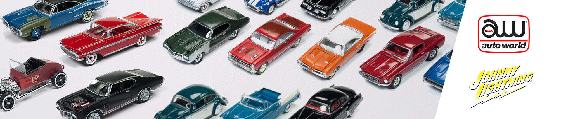 Výrobcovia Johnny Lightning a Auto World