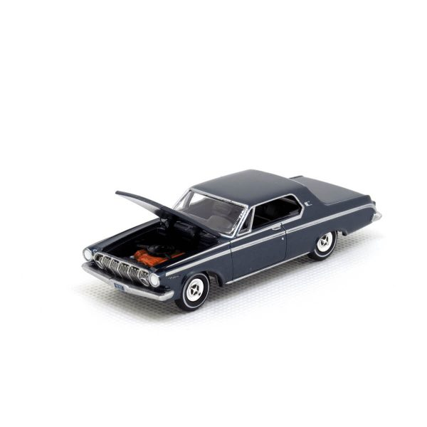 1963 Dodge Polara kovový model Auto World – M 1:64 (AW64032-1A)