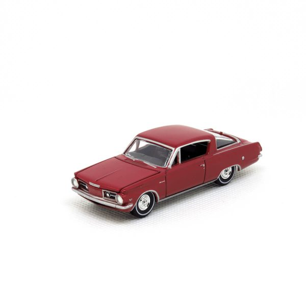 1964 Plymouth Barracuda kovový model Auto World – M 1:64 (AW64032-2A)