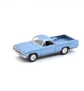 1967 Chevy El Camino kovový model Auto World – M 1:64 (AW64021-6A)