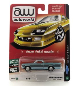 1967 Chevy El Camino kovový model Auto World – M 1:64 (AW64021-6B)