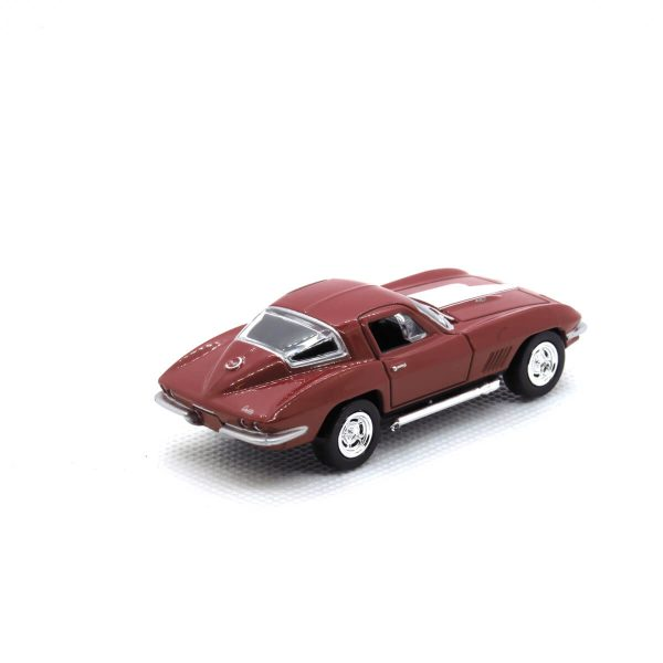 1967 Corvette 427 kovový model Auto World – M 1:64 (AW64021-1A)