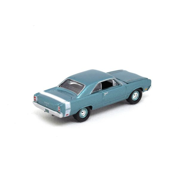 1969 Dodge Dart Swinger kovový model Johnny Lightning – M 1:64 (JLMC011-A)