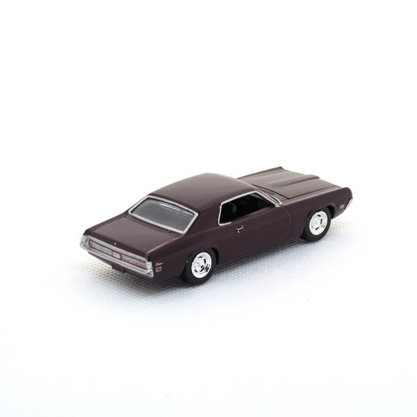 1969 Mercury Cougar kovový model Auto World – M 1:64 (AW64021-3B)