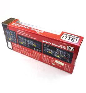 Plastový box Auto World na 6 kovových modelov áut M 1:64
