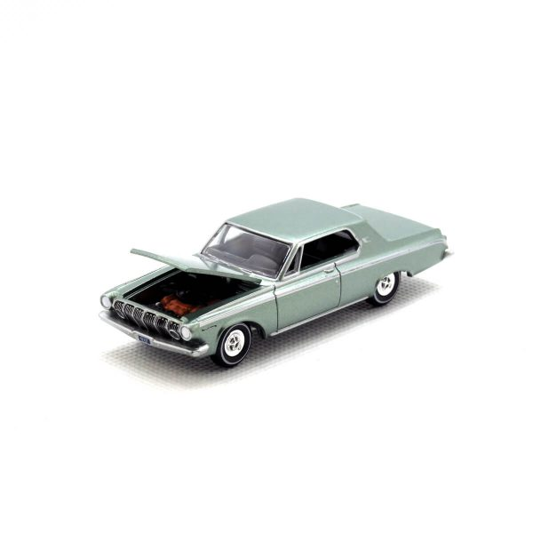 1963 Dodge Polara kovový model Auto World – M 1:64 (AW64032-1B)