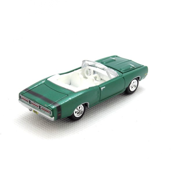 1969 Dodge Coronet R/T kovový model Johnny Lightning – M 1:64 (JLMC001-5A)