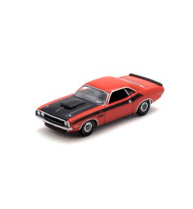 1970 Dodge Challenger T/A kovový model Auto World – M 1:64 (AW64032-4B)