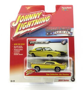 1971 Buick GSX kovový model Johnny Lightning – M 1:64 (JLMC001-2A)