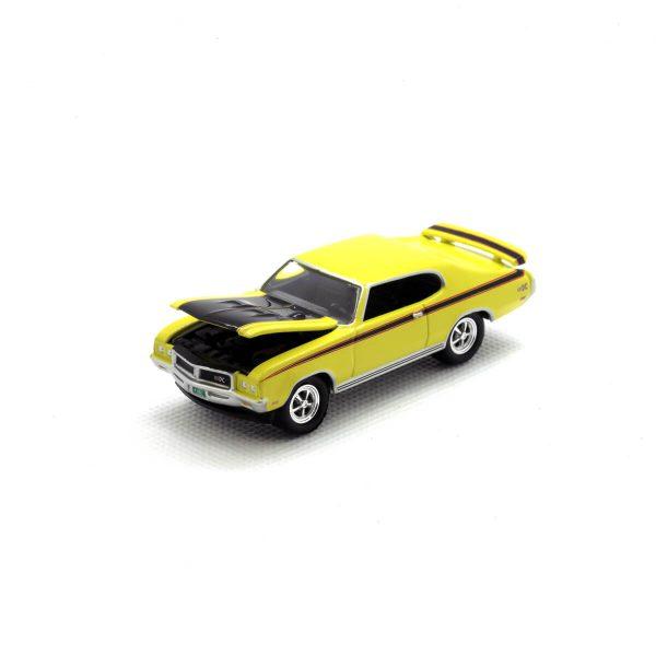1971 Buick GSX kovový model Johnny Lightning – M 1:64 (JLMC001-2A)