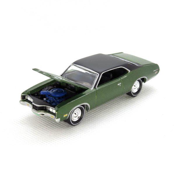 1971 Mercury Montego kovový model Johnny Lightning – M 1:64 (JLMC002-7A)