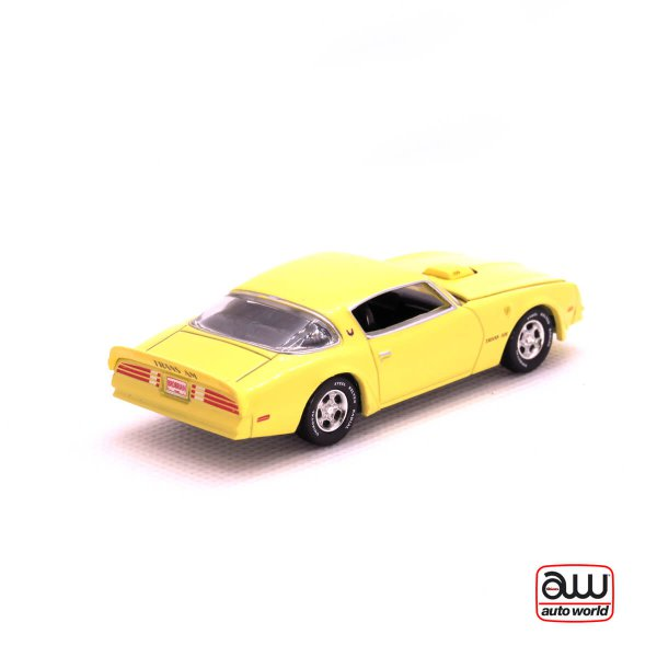 1976 Pontiac Firebird T/A kovový model Auto World – M 1:64 (AW64042-4A)