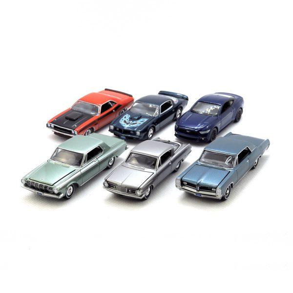 Auto World Premium series release 4 Version B - kolekcia 6 ks (AW64032B)