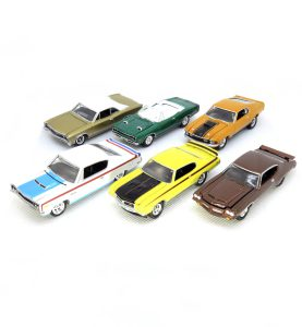 Johnny Lightning Muscle Cars U.S.A. 2016 release 1 Version A - kolekcia 6 ks (JLMC001A)