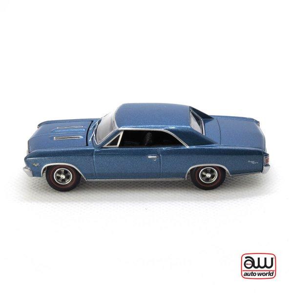 1967 Chevy Chevelle SS kovový model Auto World – M 1:64 (AW64132-A)