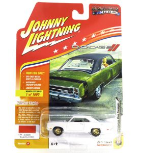1969 Dodge Dart Swinger kovový model Johnny Lightning (rare) – M 1:64 (JLMC011-B)