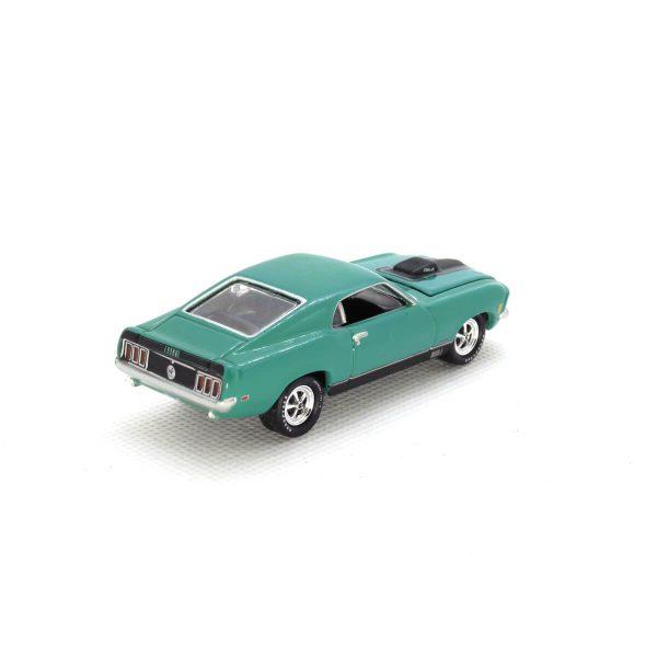 1970 Ford Mustang Mach 1 kovový model Johnny Lightning – M 1:64 (JLMC001-6B)