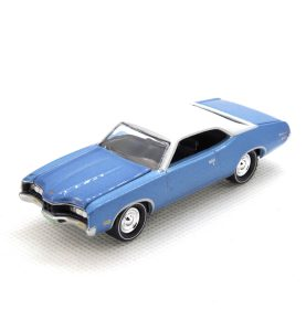 1971 Mercury Montego kovový model Johnny Lightning – M 1:64 (JLMC002-7B)