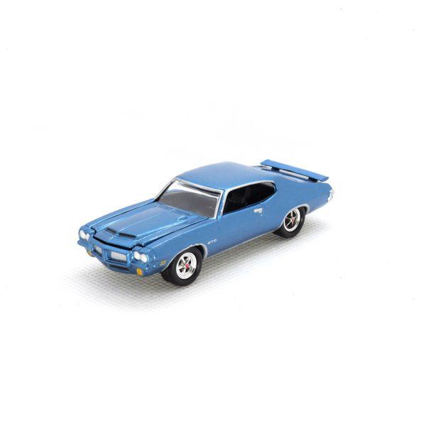 1971 Pontiac GTO kovový model Johnny Lightning – M 1:64 (JLMC001-3B)