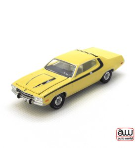 1974 Plymouth Road Runner kovový model Auto World – M 1:64 (AWSP002-A)