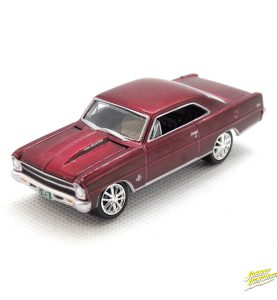 1967 Chevy Nova SS kovový model Johnny Lightning – M 1:64 (JLMC002-10B)