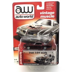 1975 Pontiac Firebird T/A kovový model Auto World (rare) – M 1:64 (AW64032-5A)