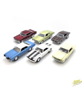 Johnny Lightning Muscle Cars U.S.A. 2016 release 2 Version A - kolekcia 6 ks (JLMC002B)
