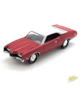 1971 Mercury Montego kovový model Johnny Lightning – M 1:64 (JLMC002-7D)