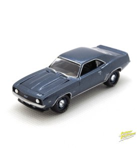 1969 Chevy Camaro ZL1 kovový model Johnny Lightning – M 1:64 (JLSP003-B)