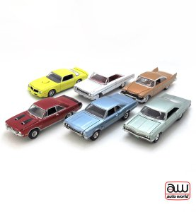 Auto World Premium series Release 5 Version A – kolekcia 6 ks (AW64042A)